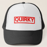 Quirky Stamp Trucker Hat
