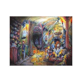 Quirky Taver Canvas Print