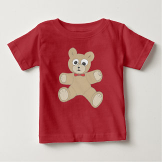 Quirky Teddy Bear Baby T-Shirt