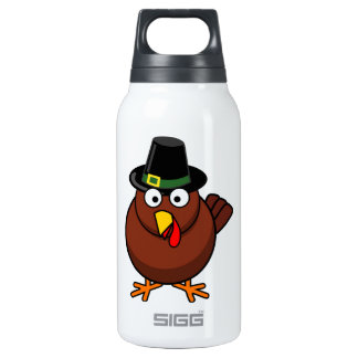 Quirky Turkey Insulated Water Bottle