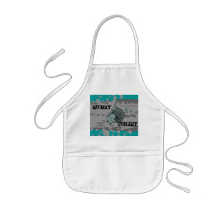 QUIRKY TURKEY Skate Life Custom Quirkmaster (kids) Kids' Apron