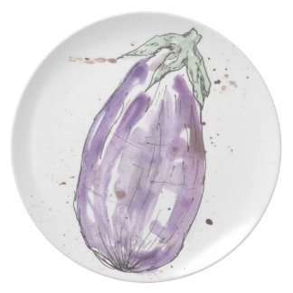 Quirky Vegetable Plate