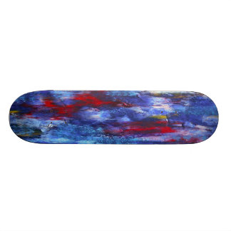 QuirkyBlues Skateboard