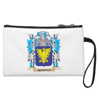 Quiroga Coat of Arms - Family Crest Wristlet Purse