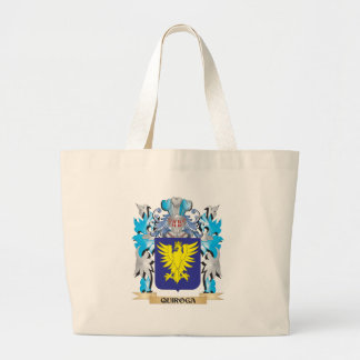 Quiroga Coat of Arms - Family Crest Jumbo Tote Bag