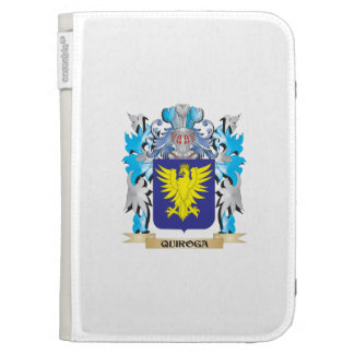 Quiroga Coat of Arms - Family Crest Kindle 3 Cases