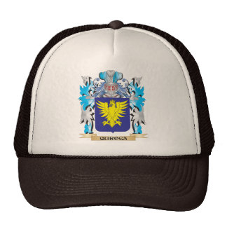 Quiroga Coat of Arms - Family Crest Trucker Hat