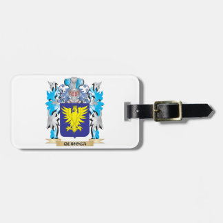 Quiroga Coat of Arms - Family Crest Bag Tags