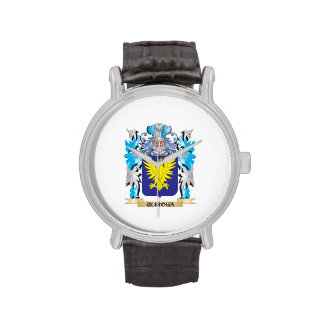 Quiroga Coat of Arms - Family Crest Wristwatches