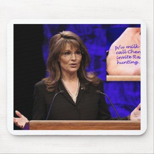 Quiromante de Palin Mouse Pads