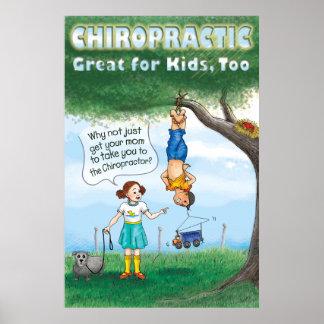 Quiropráctica para los niños posters