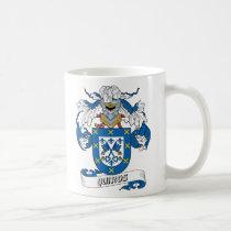 Quiros Family Crest Mug