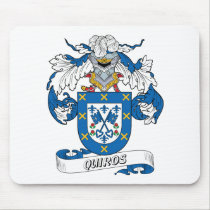 Quiros Family Crest Mousepad