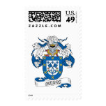 Quiros Family Crest Postage Stamps