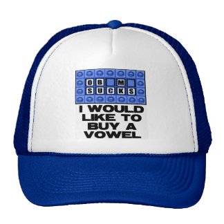 Quisiera comprar una vocal - Obama chupa Gorros