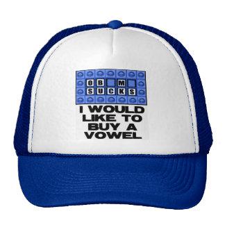 Quisiera comprar una vocal - Obama chupa Gorro