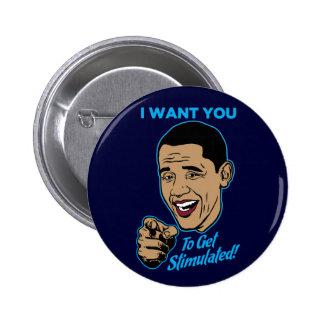Quisiera que usted consiguiera el botón estimulado