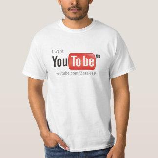 Quisiera que usted estuviera en YouTube Polera