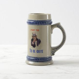 Quisiera que usted fuera muy taza de café