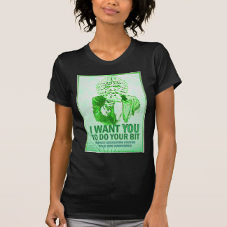Quisiera que usted hiciera su pedazo - el hombre camiseta