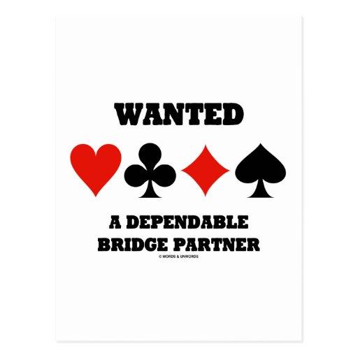 Quiso a un socio confiable del puente (los juegos tarjetas postales