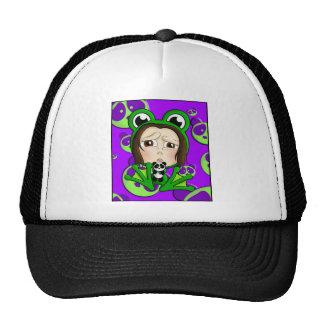 Quiso ser una panda gorro