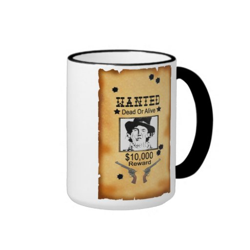 """Quiso taza de café occidental del poster"" (añada"