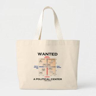 Quiso un centro político (la carta de Pournelle) Bolsas De Mano
