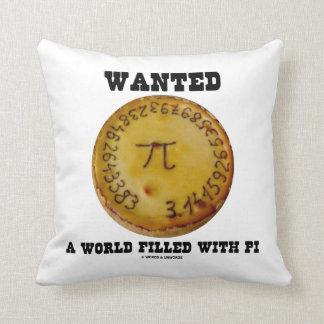 Quiso un mundo llenado de pi (el humor de la cojines