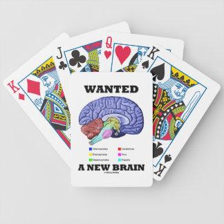 Quiso un nuevo cerebro (la actitud anatómica del barajas de cartas