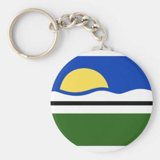 Quissama Riodejaneiro Brasil, Brazil flag Keychains
