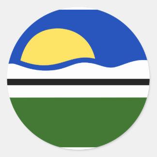 Quissama Riodejaneiro Brasil, Brazil flag Sticker