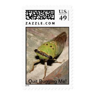 Quit Bugging Me Stamp