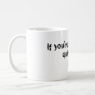 Quit Early Coffee Mug