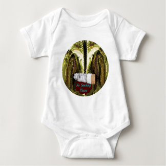 QUIT NOW -  Smoking is injurious to health Baby Bodysuit