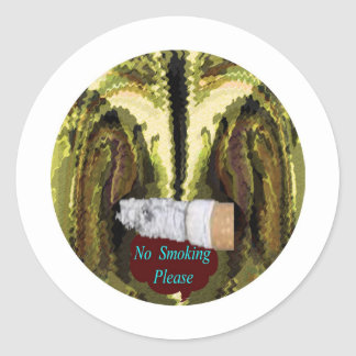 QUIT NOW -  Smoking is injurious to health Classic Round Sticker