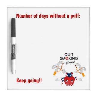 Quit que fuma por favor