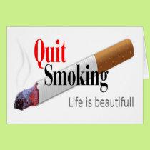 QUIT SMOKING CARD