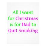 Quit Smoking Dad 2 Custom Flyer