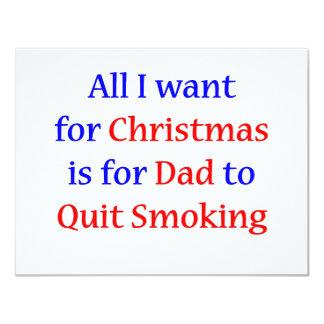 Quit Smoking Dad! Card