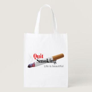 Quit Smoking Grocery Bag