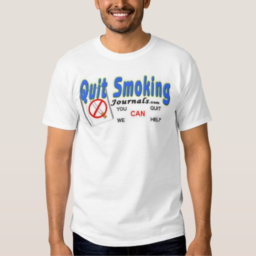 QUIT SMOKING JOURNALS  TEE SHIRTS