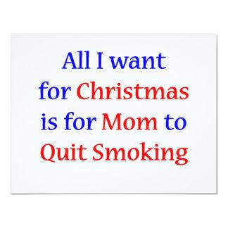 Quit Smoking Mom!  2 Card