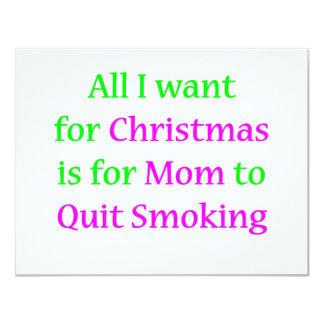 Quit Smoking Mom! Card