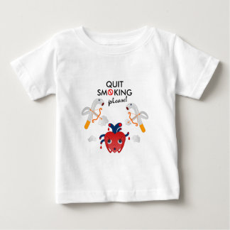 Quit smoking please baby T-Shirt