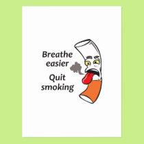 QUIT SMOKING POSTCARD
