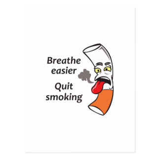 QUIT SMOKING POSTCARD