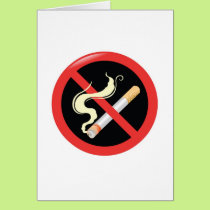 Quit Smoking today Card