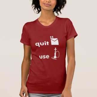 Quit Smoking Use Hookah T-Shirt
