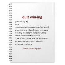 Quit Wining Journal